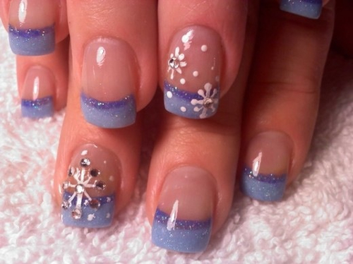 Easy Nail Art for Winter