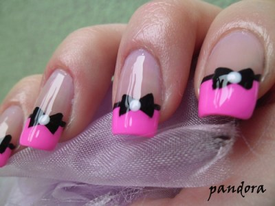 bow-nail-art-design-2018