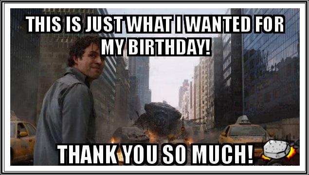 Funny Birthday Thank You Meme caption image?ssl=1 30 sarcastic funny thank you memes entertainmentmesh
