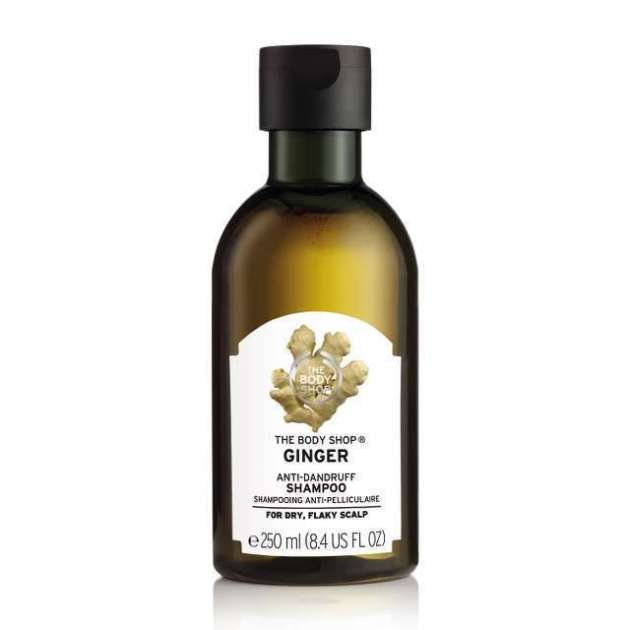 The Body Shop Ginger Scalp Care antifungal Shampoo
