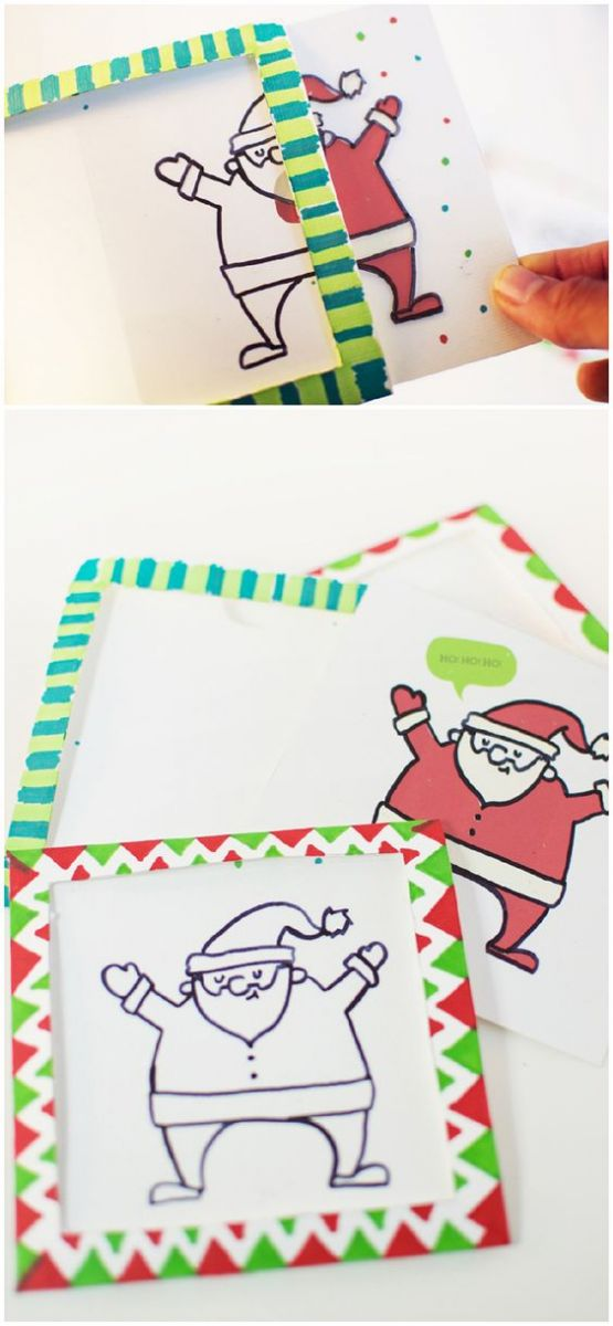 Christmas card ideas drawing