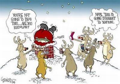 funny Christmas caption photos