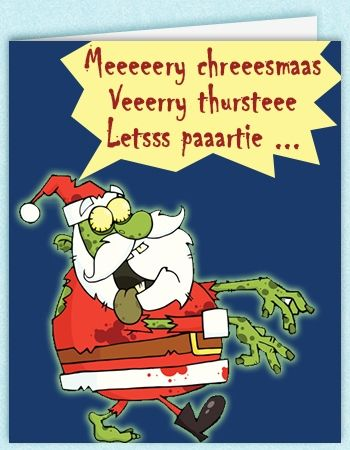 funny Christmas card designs