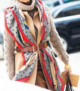 scarf fashion