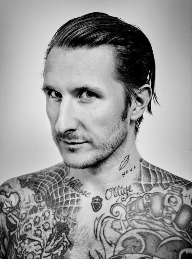 Scott Campbell USA tattoo artist