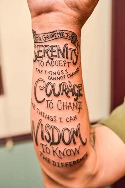 prayer tattoos