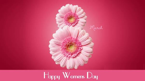 8 march happy womens day beautiful flowers