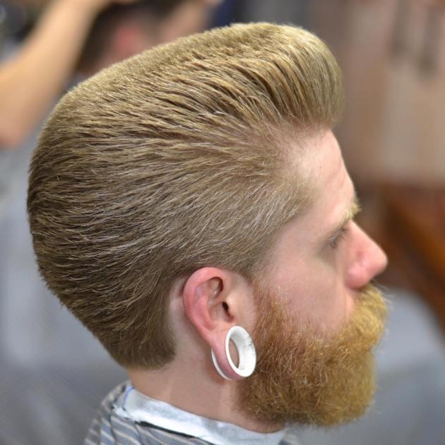 Precise Flat Top Haircut