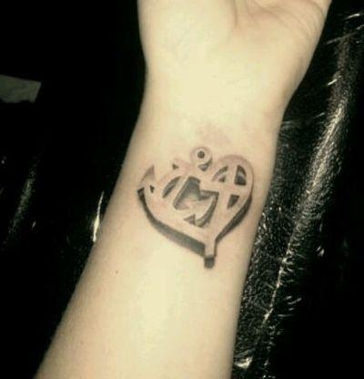 cast out fear wrist tattoo