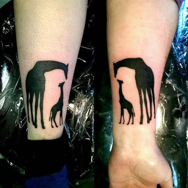 giraffe tattoo designs