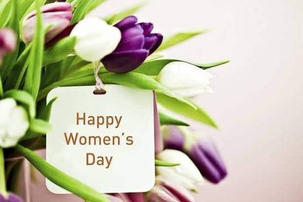 happy womens day flowers pictures