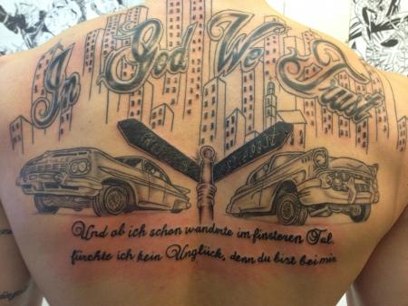 30 Expressive In God We Trust Tattoo Designs For Men