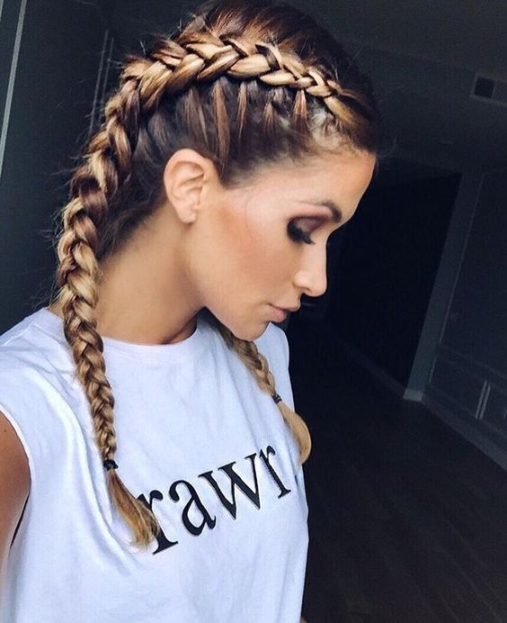 How To Easily Create French Braided Pigtails With Tips And