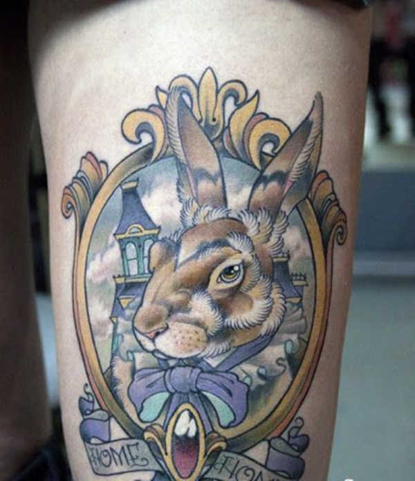 traditional alice in wonderland tattoo ideas