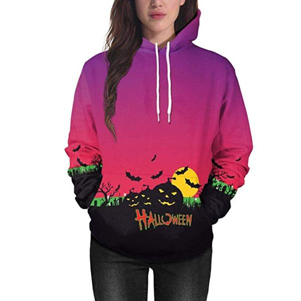 best full moon halloween night hoodie for girls