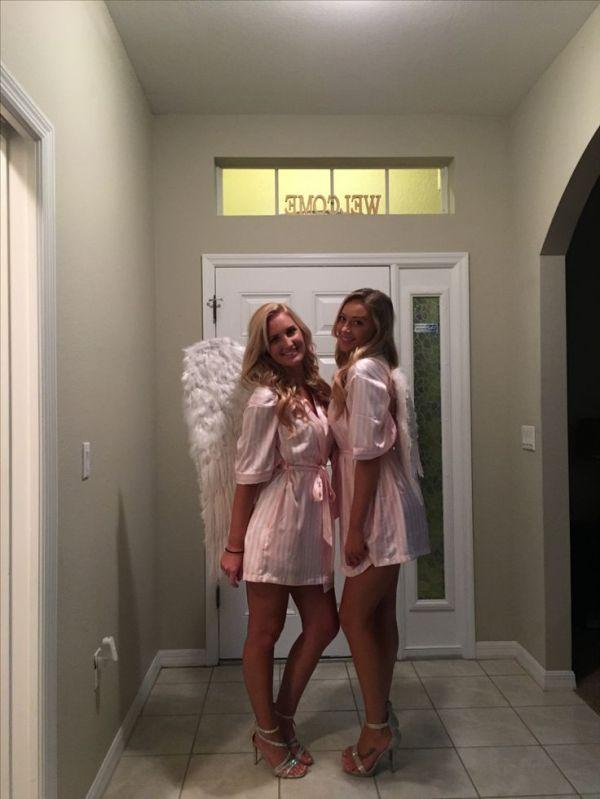 angel halloween costume ideas for college girls