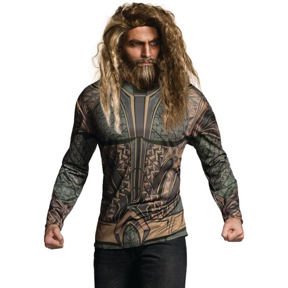 aquaman outfit ideas for men with long hair