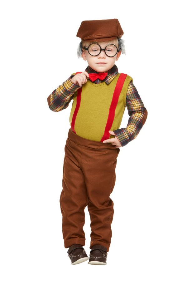 cute grandpa toddler halloween costume idea