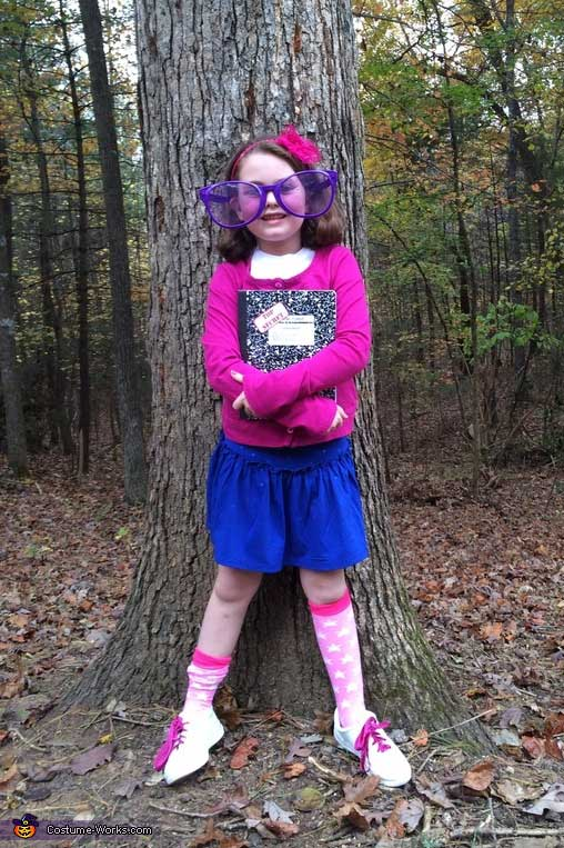 junie b jones fancy skirt costume idea