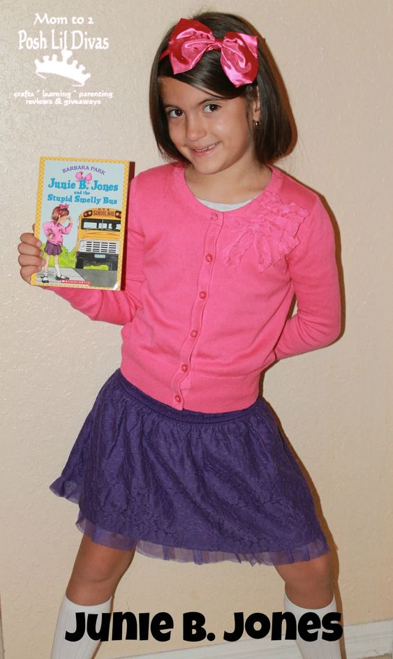 junie b jones stupid smelly bus costume