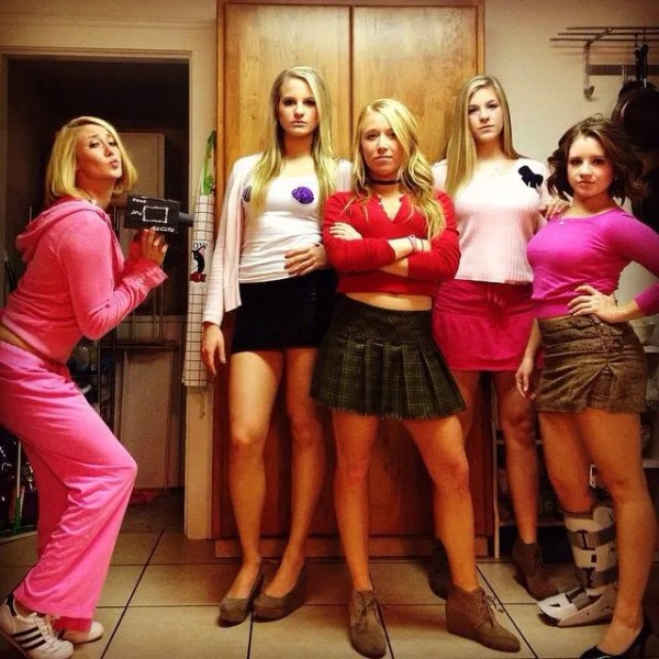 mean girls halloween costume ideas for college girls