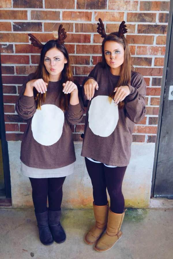 reindeer halloween costume ideas for college girls
