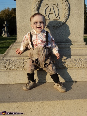 scary zombie kids costume ideas