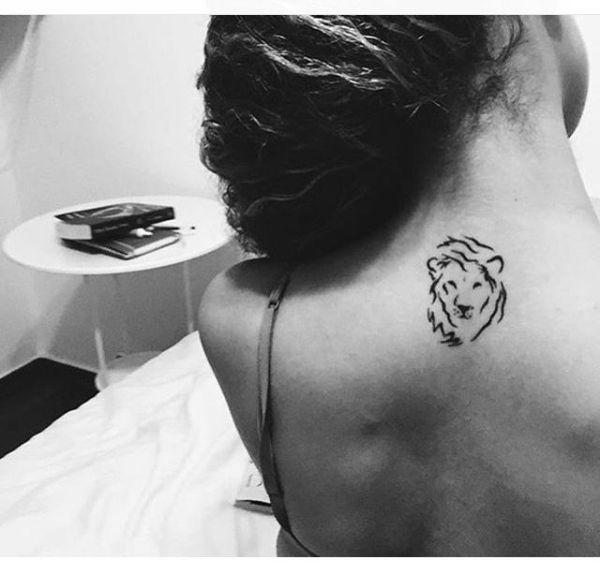 tattoo ideas back of neck