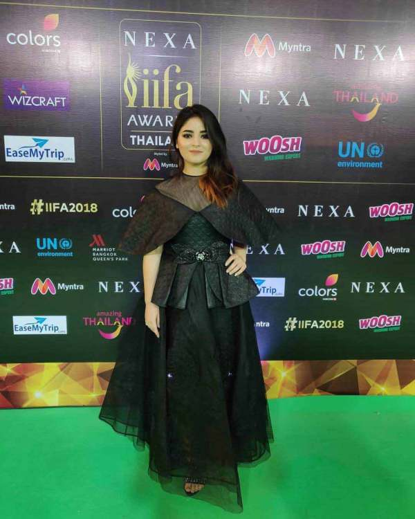 Zaira Wasim Dresses by Alpana Neeraj