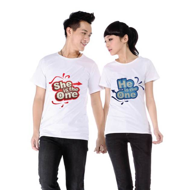 cute outfit t-shirts for boyfriend and girlfriend