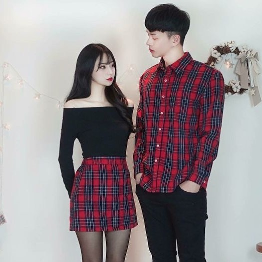 matching full outfits for boyfriend-girlfriend