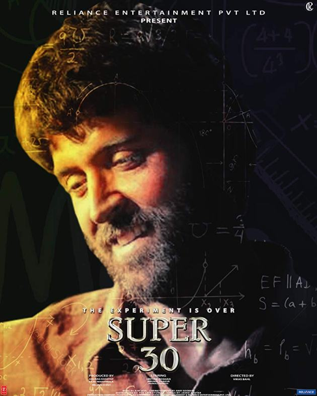 super 30 latest Bollywood movie 2019