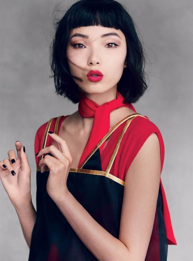 beautiful asian model xiao wen ju