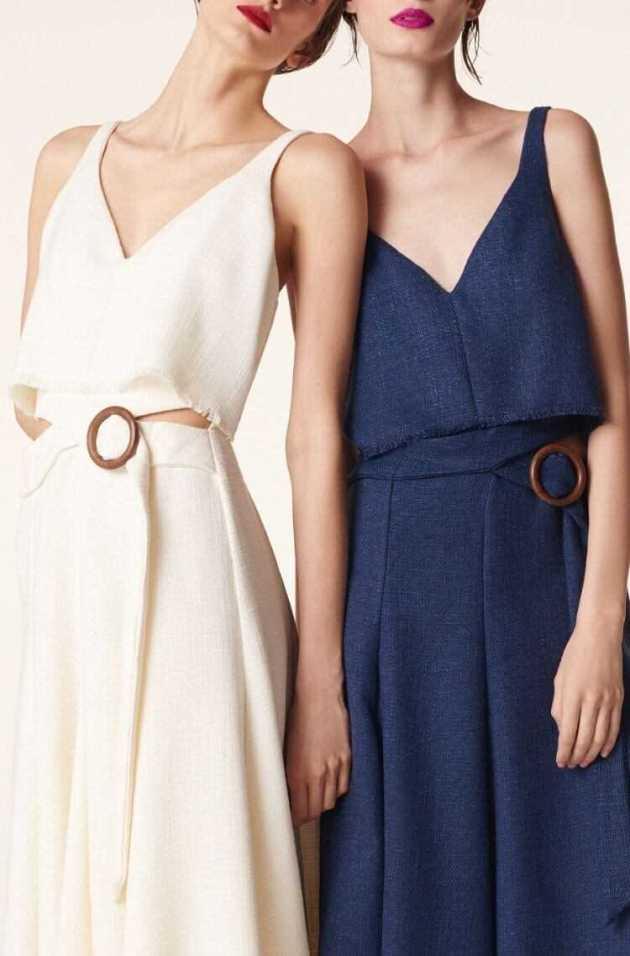 v neck sleeveless summer cotton dresses for females