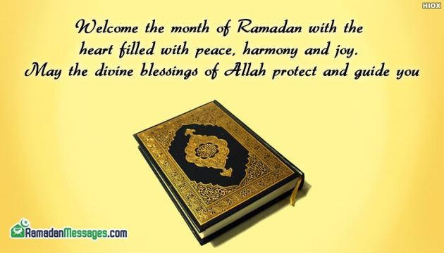 welcome Ramadan Quote