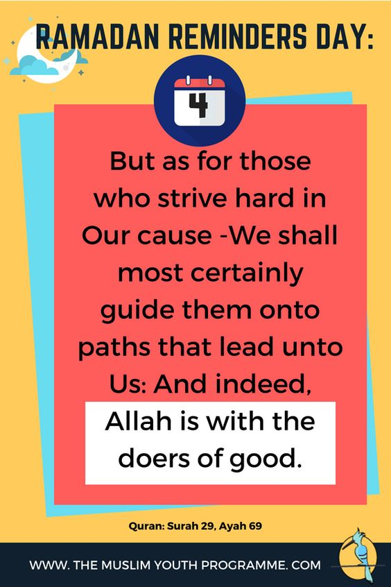Ramadan Reminders image for day 4