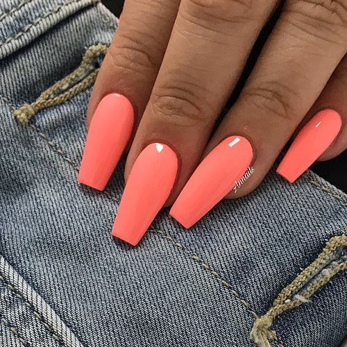 peach coffin nails