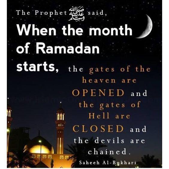 Prophet Muhammad Ramadan quotes