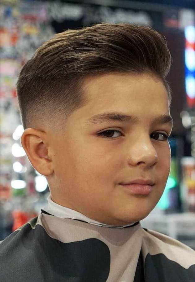 small boy quiff haircut