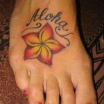 plumeria tattoo designs