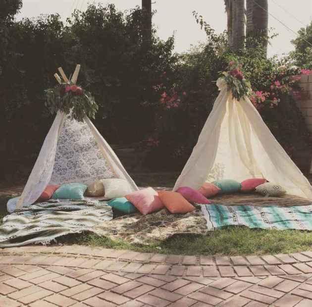 boho garden party decor ideas for summer