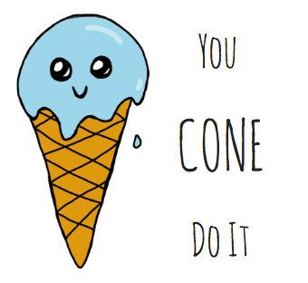 cute funny ice cream puns