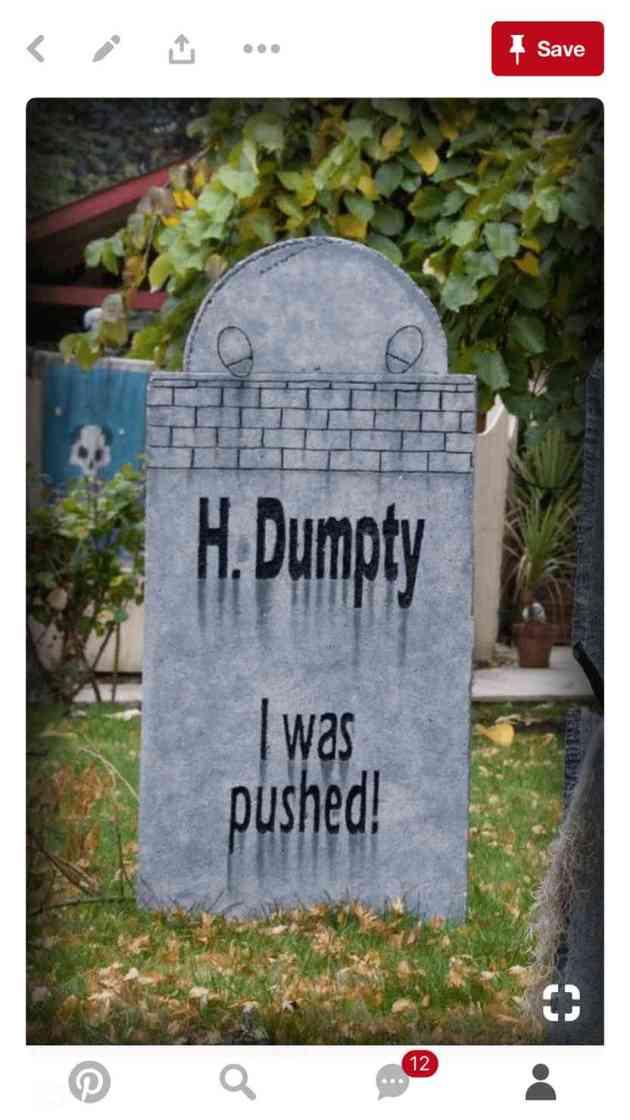 funny diy halloween tombstones