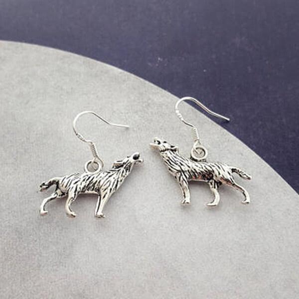 halloween werewolf earrings
