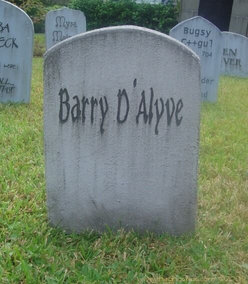 ideas about halloween tombstone sign
