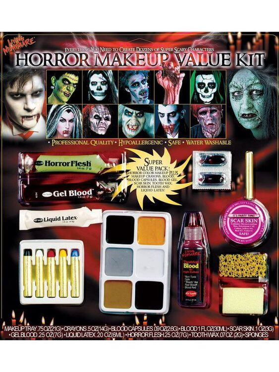 Horror Make-Up Kit