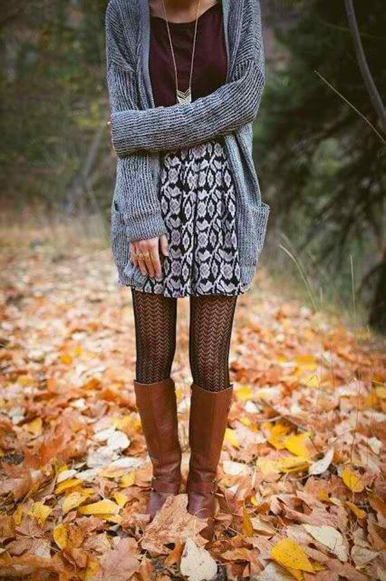 fall cardigan outfit ideas