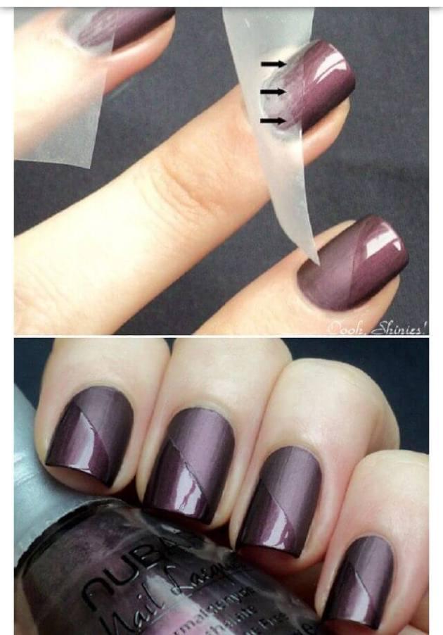 matte vs shiny nails