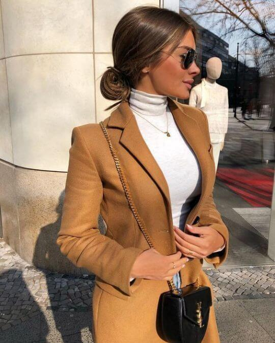 women's casual winter work outfit ideas