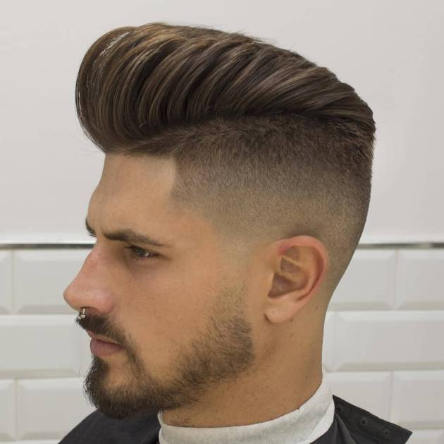 pompadour hairstyle for men in 2020